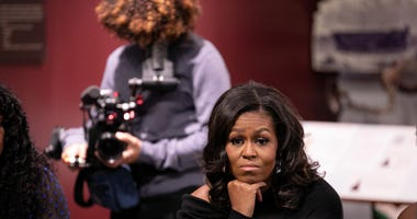Michelle Obama in 'Becoming'