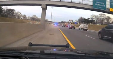 Sterling Heights police chase