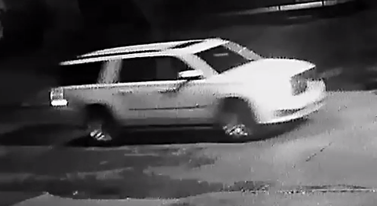 triple shooting suspect vehicle