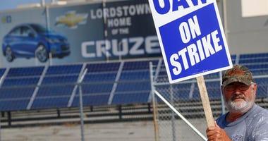 UAW Strike AP