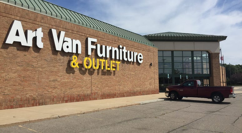 art van furniture store