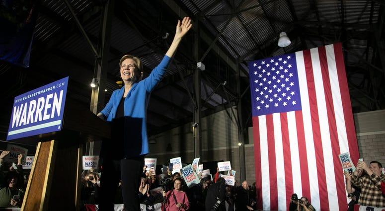 Elizabeth Warren at Eastern Market