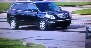 Westland hit and run suspect vehicle