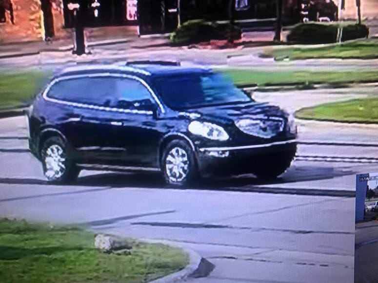 Westland hit and run suspect vehicle