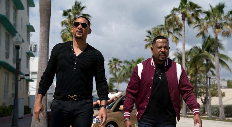Will Smith, left, and Martin Lawrence co-star in Bad Boys for Life.