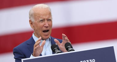 Biden in Warren Michigan