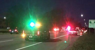 Suspected drunk driving crash shuts down I-94