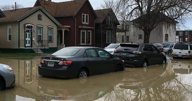 corktown flooding, water main break