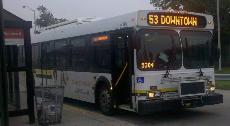 Detroit Department of Transportation Bus
