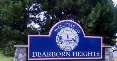 dearborn heights sign