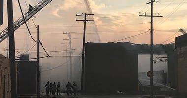 dearborn warehouse fire