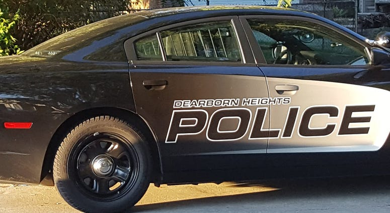 Dearborn Heights Police Car