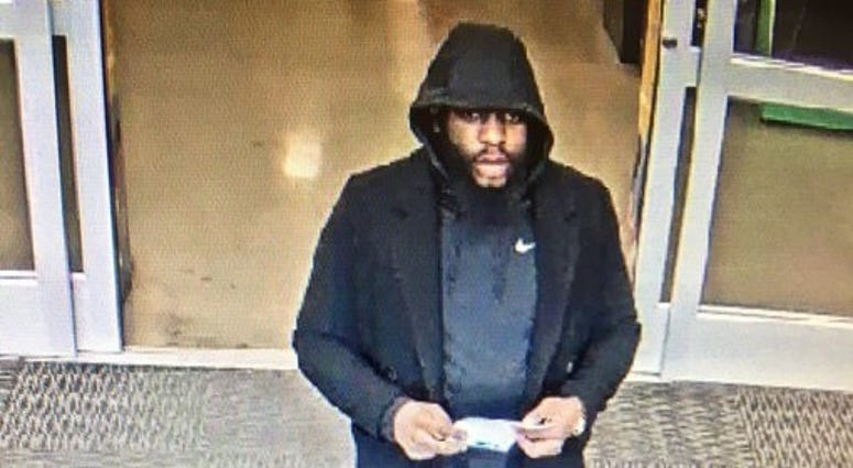 debit card theft suspect