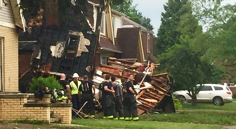 detroit house explosion