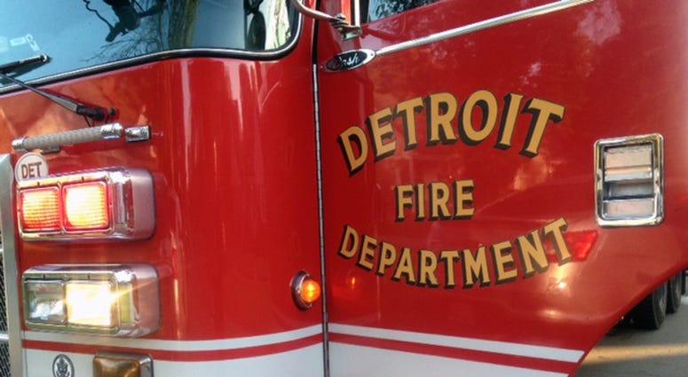 Detroit Fire Truck