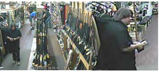 gun thief wanted by ATF