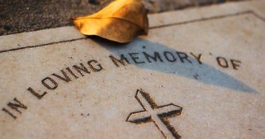 grave obit headstone