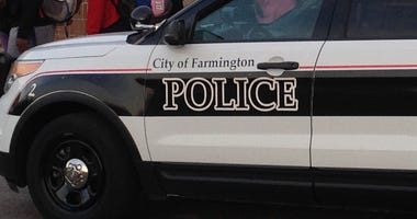 Farmington Police Car