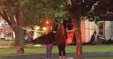 Fatal fire in Flat Rock