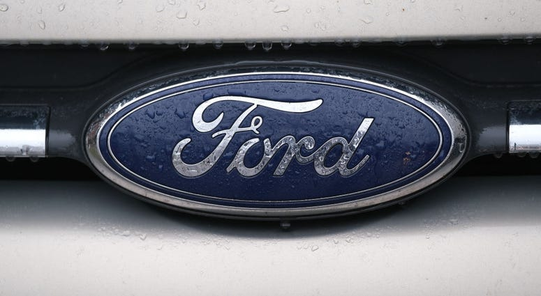 ford logo getty