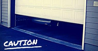 garage caution