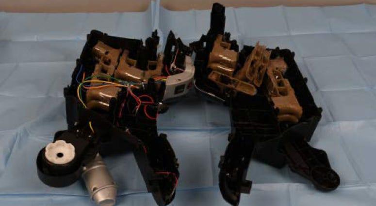 hidden gun parts