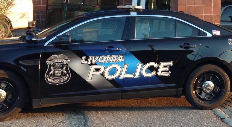 Livonia Police Car