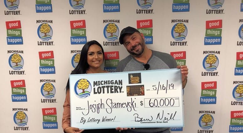 instant game Michigan lottery winner