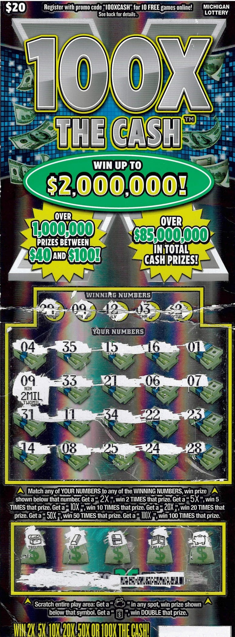 Newaygo County lottery winner