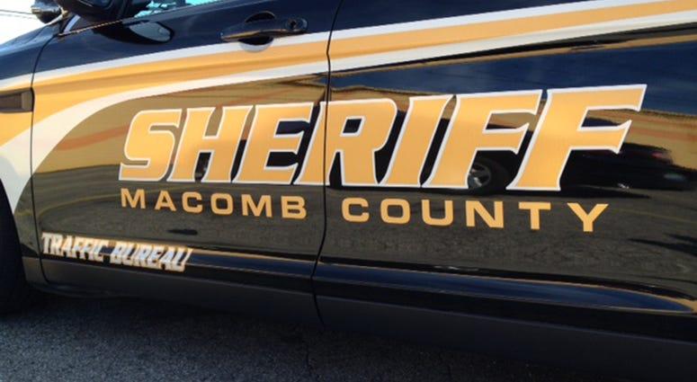 Macomb County Sheriff Car