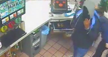 milford taco bell robbery