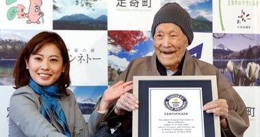 oldest living man