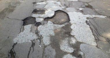 potholes highland park