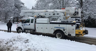 power outage snow