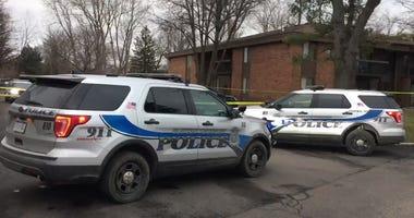 pregnant woman shot clinton township