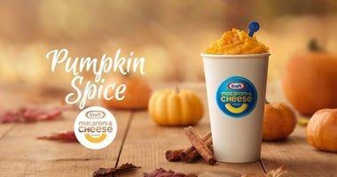 pumpkin spice mac & cheese