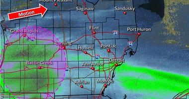 radar snow April 17