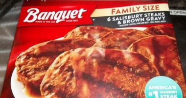 recalled Salisbury steak