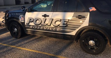 Roseville police car