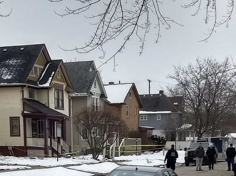 Scene of the hostage situation