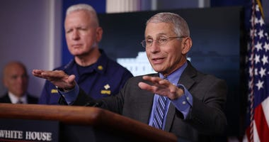 Dr. Fauci: 'I Don't Think We Should Ever Shake Hands Ever Again'