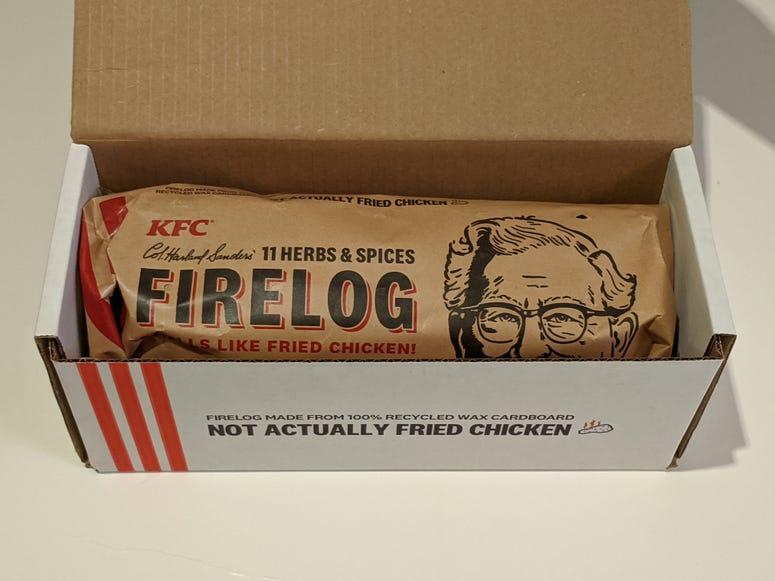 KFC Firelog In The Box