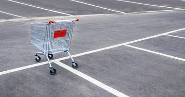store parking lot