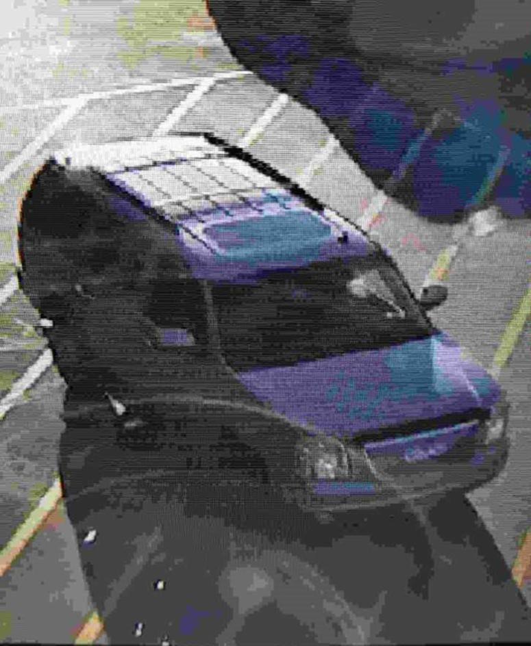 Menards vehicle.