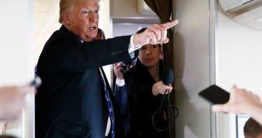 Trump AP photo