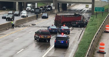 semi crash I-75