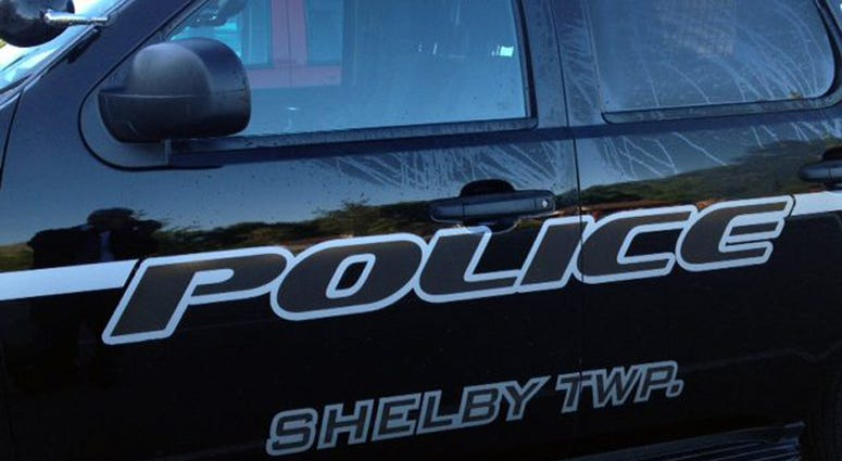 Shelby Township Police Car