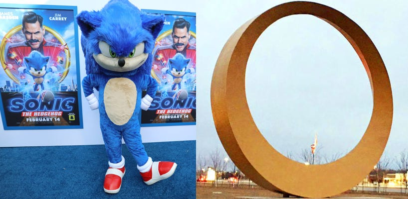 Sonic The Hedgehog To Visit Sterling Heights Golden Ring Wwj Newsradio 950