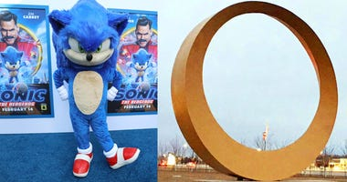 Sonic and the ring