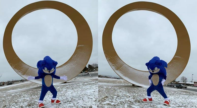 sonic at the ring